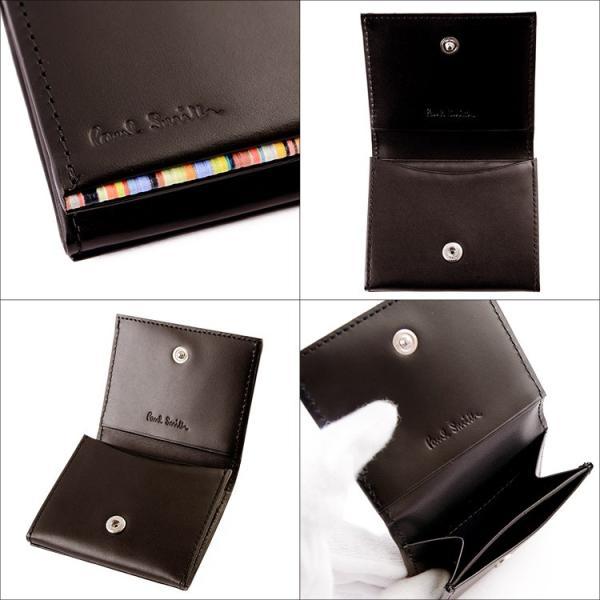 ポールスミス 財布 メンズ コインケース 833215 P050マルチストライプ 本革 ブランド paulsmith 新品|aruarumarket|04