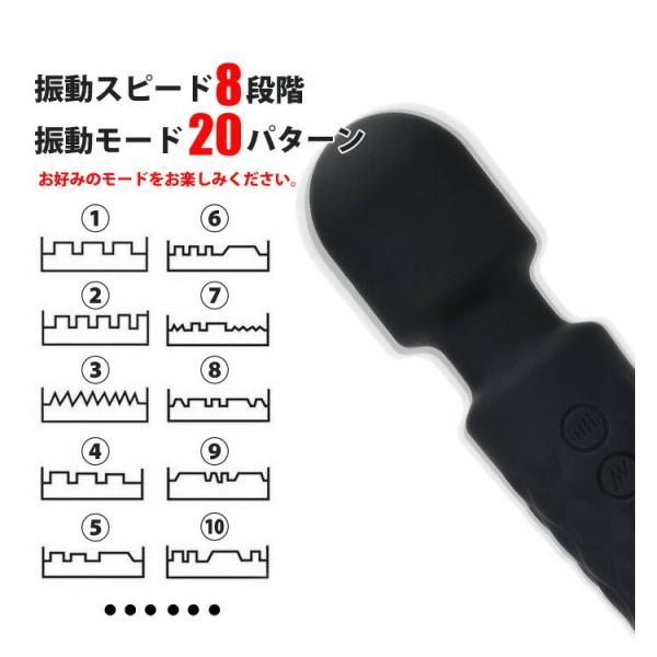 ハンディーマッサージャー 電マ バイブ 小型 電動マッサージ器 USB充電式  便利グッズ  頭・首・肩・腕・腰・足・背中 日時指定不可 レタープラス配送 VMAX arudake 02