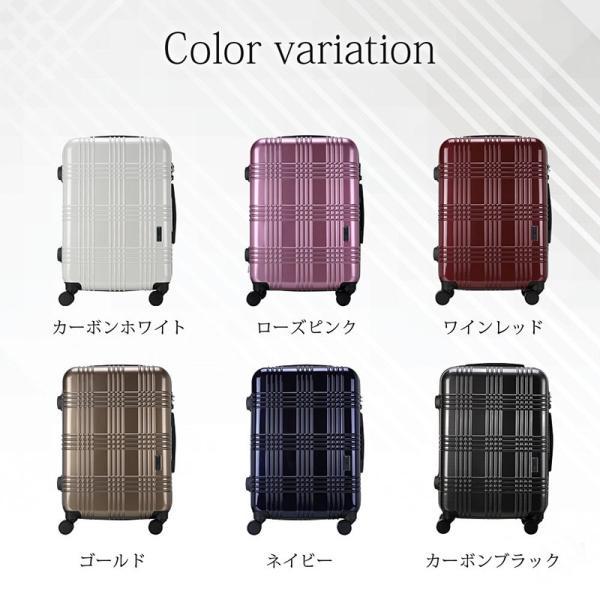 スーツケース 機内持ち込み Sサイズ ストッパー付 日本社製 HINOMOTO ダブルキャスター キャリーバッグ ポリカーボネート TSAロック 8輪 1泊〜3泊用 35L|arudake|08