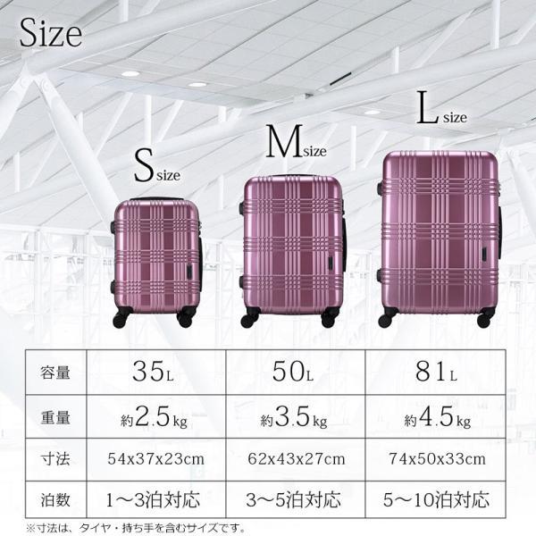 スーツケース 機内持ち込み Sサイズ ストッパー付 日本社製 HINOMOTO ダブルキャスター キャリーバッグ ポリカーボネート TSAロック 8輪 1泊〜3泊用 35L|arudake|10