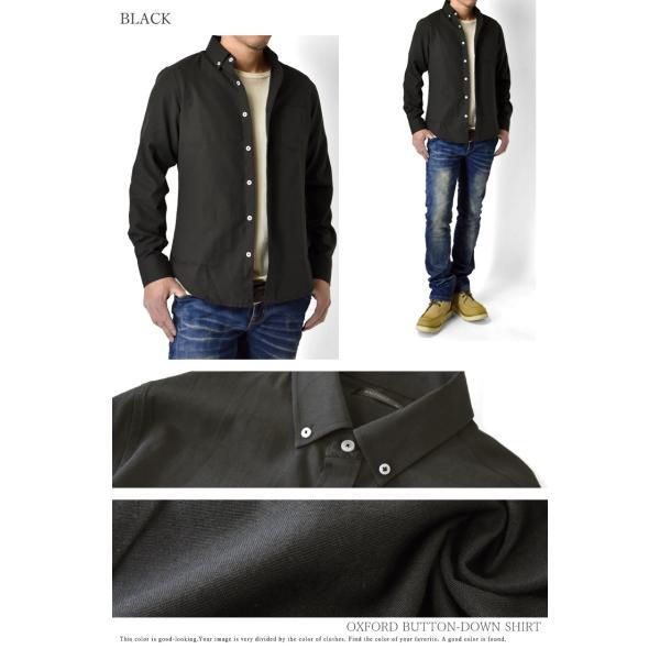 長袖シャツ メンズ ミリタリーシャツ オックスフォードシャツ ボタンダウン 長袖 セール|aruge|15