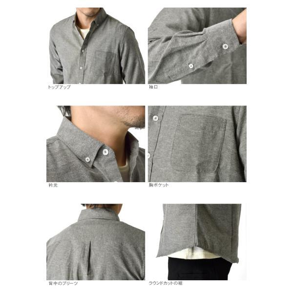 長袖シャツ メンズ ミリタリーシャツ オックスフォードシャツ ボタンダウン 長袖 セール|aruge|18