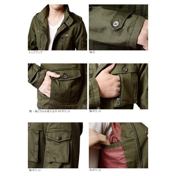 ミリタリージャケット メンズ  M65 アウトドアウェアM-65 春 春夏 aruge 03