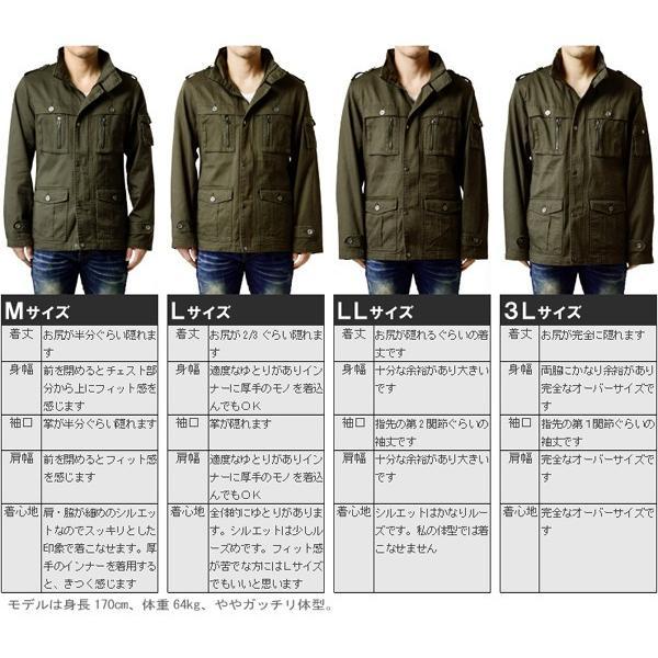 ミリタリージャケット メンズ  M65 アウトドアウェアM-65 春 春夏 aruge 05