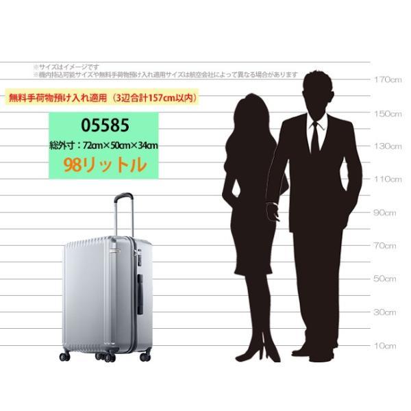 エース スーツケース Lサイズ パリセイドZ 65cm 05585 arukikata-travel 08