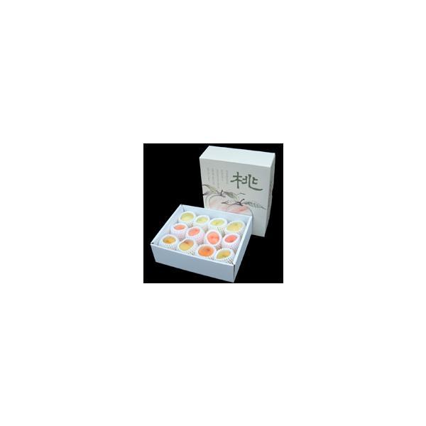 桃ももモモ ギフトセット 白麗&サンゴールド(8〜10個)【アダチ観光農園直送】|arumama|02