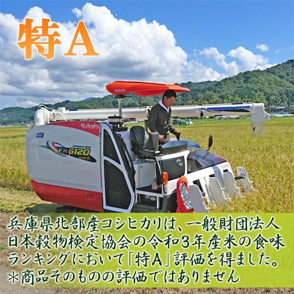 新米 令和元年産 玄米(精米無)農薬不使用 白米 コウノトリ米 10kg 当日精米 arumama 02