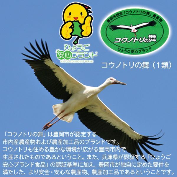 新米 令和元年産 玄米 農薬不使用 コシヒカリ5kg こうのとり米 送料無料 兵庫県産|arumama|02