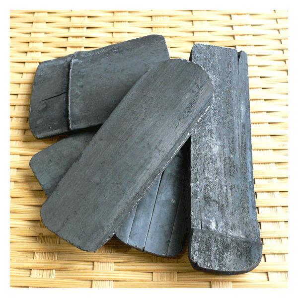 白竹炭 70g 規格外寸法 炊飯浄水用 神鍋白炭工房 送料無料|arumama|03