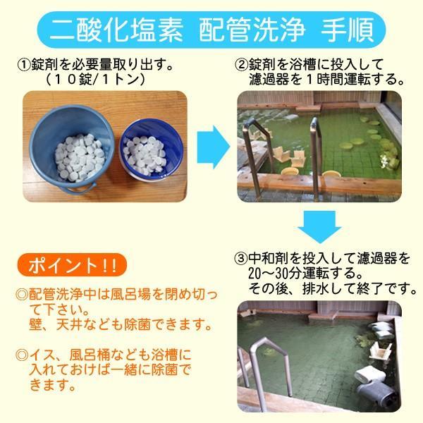 レジオネラ症対策 配管洗浄 セイバーオードリンST 20g×10錠|arumama|02