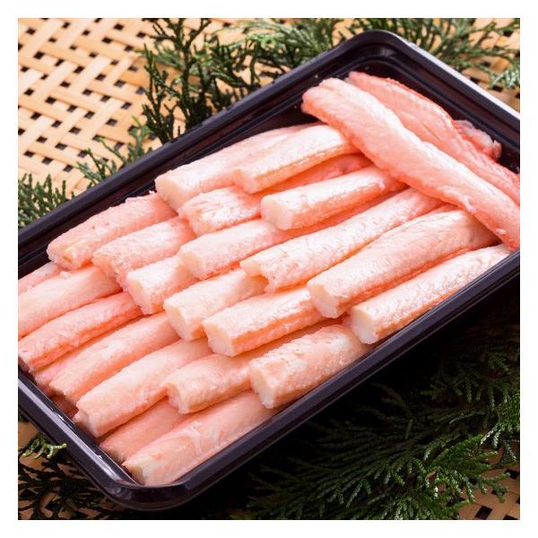 【冷凍】お買得品 香住がに ベニズワイガニ かに身 棒身 ボイル 500g 中松商店|arumama|02