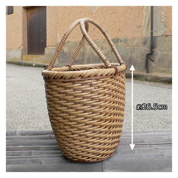 ラタン かごバッグ 籐かご 買い物かご バスケット(L)|arumama|02