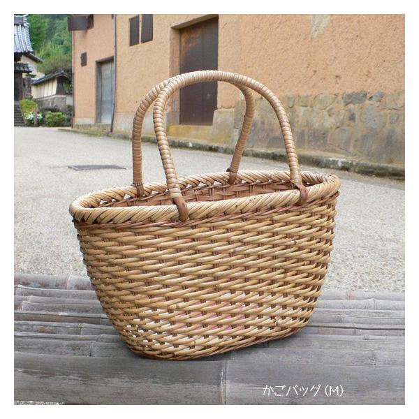 ラタン かごバッグ 籐かご 買い物かご バスケット(M)|arumama