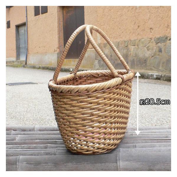 ラタン かごバッグ 籐かご 買い物かご バスケット(M)|arumama|02