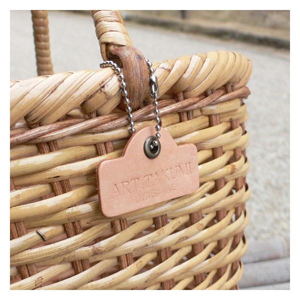 ラタン かごバッグ 籐かご 買い物かご バスケット(M)|arumama|05