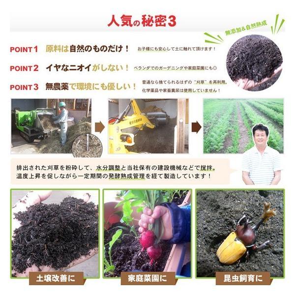 腐葉土 有機100% 家庭菜園 ガーデニング 1.2L×2袋 送料無料|arumama|03