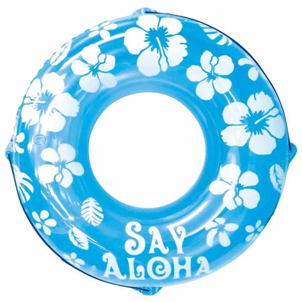 うきわ 120cm ブルー フロート うきわ 浮き輪 浮輪 プール 海水浴 水遊び 川遊び レジャー サマーレジャー