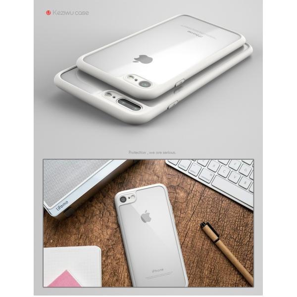 新発売 iphone7 iphone7plus ケース 高品質超人気アイフォン7シリコンTPU耐衝撃透明背面クリアーバンパーハードカバー|arunmui|03