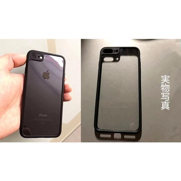 新発売 iphone7 iphone7plus ケース 高品質超人気アイフォン7シリコンTPU耐衝撃透明背面クリアーバンパーハードカバー|arunmui|06