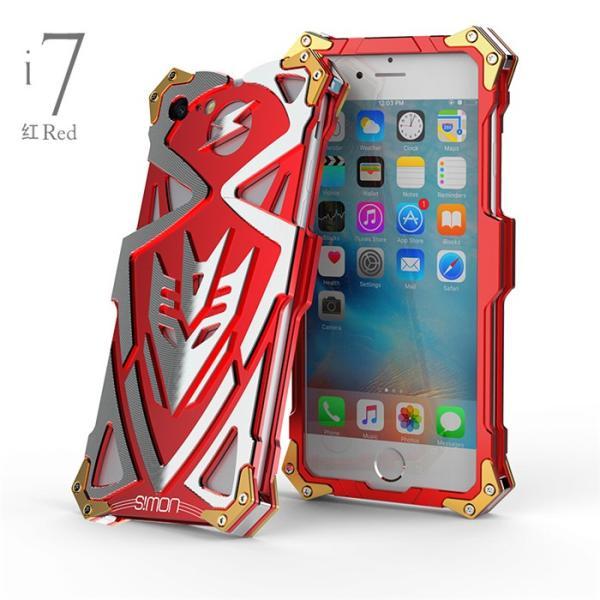 雷神2 トランスフォーマー iphone7 iphone7plus ケース S!MON 最強級金属合金カバーアイフォン6ケースアルミメタルバンパーフレーム超頑丈格好いい新登場|arunmui|04
