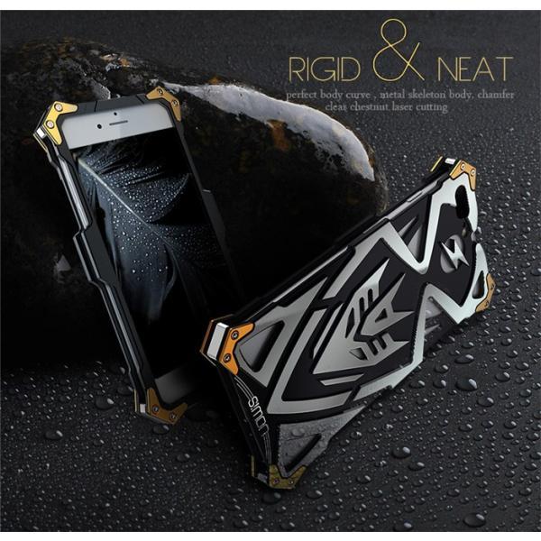雷神2 トランスフォーマー iphone7 iphone7plus ケース S!MON 最強級金属合金カバーアイフォン6ケースアルミメタルバンパーフレーム超頑丈格好いい新登場|arunmui|05