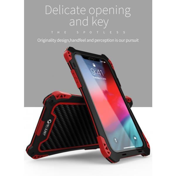 アミラ iPhone Xs iPhone Xs Max iPhoneXR ケース AMIRA 金属超頑丈メタル合金アルミバンパー 二重保護 アイフォン X ケース 合金フレーム ゴムアイフォンカバー|arunmui|16