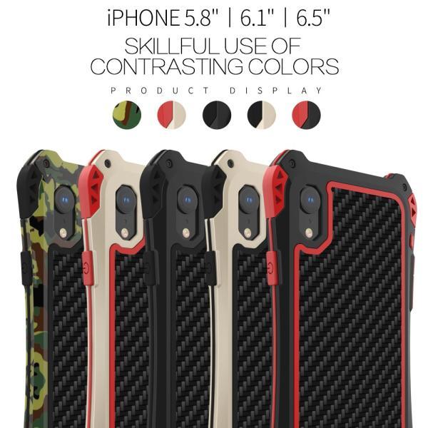 アミラ iPhone Xs iPhone Xs Max iPhoneXR ケース AMIRA 金属超頑丈メタル合金アルミバンパー 二重保護 アイフォン X ケース 合金フレーム ゴムアイフォンカバー|arunmui|03