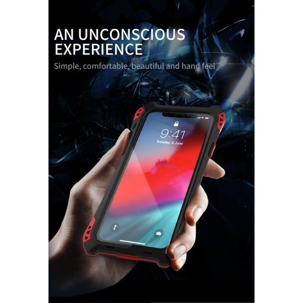 アミラ iPhone Xs iPhone Xs Max iPhoneXR ケース AMIRA 金属超頑丈メタル合金アルミバンパー 二重保護 アイフォン X ケース 合金フレーム ゴムアイフォンカバー|arunmui|08