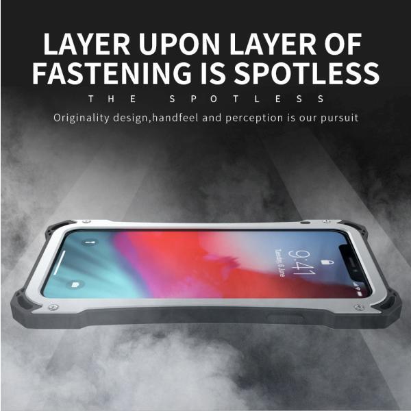 かっこいい iPhone XR iphoneXs Max iphone Xs ケース ARMOR メタル最強金属合金アルミバンパー 二重保護 超頑丈 ゴムアイフォンカバー|arunmui|11