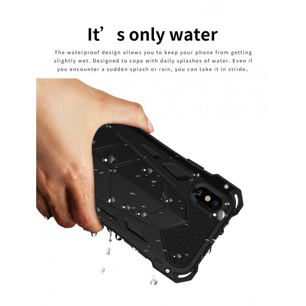 かっこいい iPhone XR iphoneXs Max iphone Xs ケース ARMOR メタル最強金属合金アルミバンパー 二重保護 超頑丈 ゴムアイフォンカバー|arunmui|12