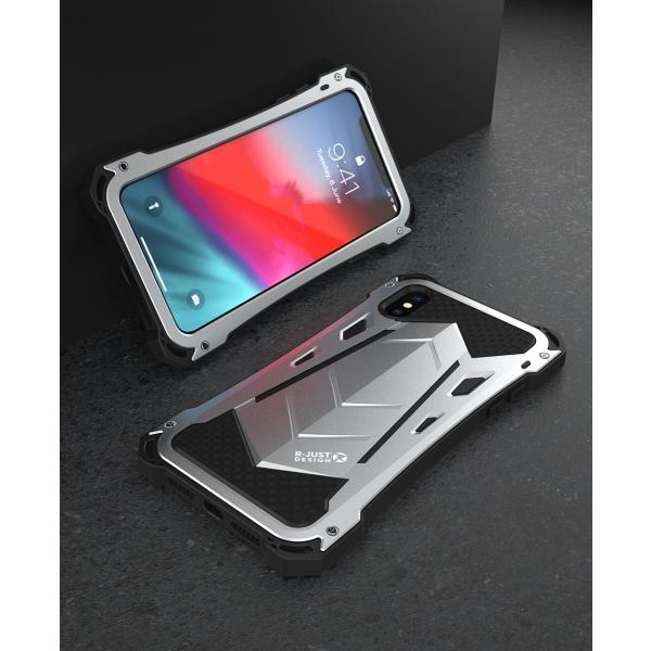 かっこいい iPhone XR iphoneXs Max iphone Xs ケース ARMOR メタル最強金属合金アルミバンパー 二重保護 超頑丈 ゴムアイフォンカバー|arunmui|18