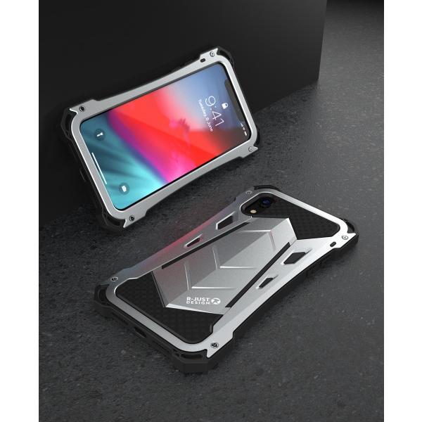 かっこいい iPhone XR iphoneXs Max iphone Xs ケース ARMOR メタル最強金属合金アルミバンパー 二重保護 超頑丈 ゴムアイフォンカバー|arunmui|19