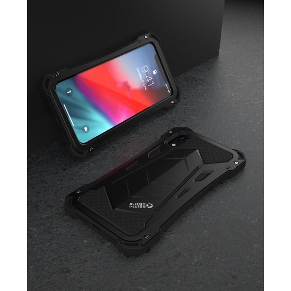 かっこいい iPhone XR iphoneXs Max iphone Xs ケース ARMOR メタル最強金属合金アルミバンパー 二重保護 超頑丈 ゴムアイフォンカバー|arunmui|20