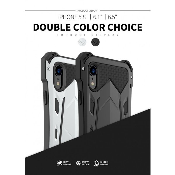かっこいい iPhone XR iphoneXs Max iphone Xs ケース ARMOR メタル最強金属合金アルミバンパー 二重保護 超頑丈 ゴムアイフォンカバー|arunmui|06