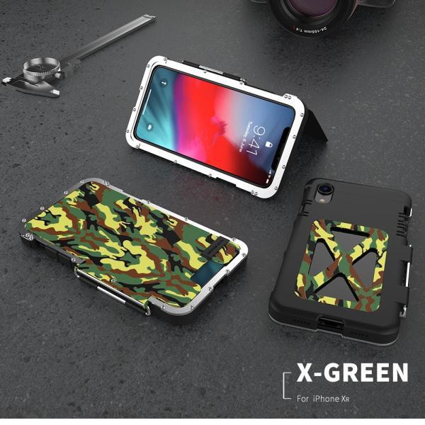 鋼鉄の王 iPhone XR iphoneXs Max iphone Xs ケース ARMOR KING 手帳型 横開き スタンド機能 史上最強ステンレス金属合金iphoneXカバーアルミバンパー|arunmui|14