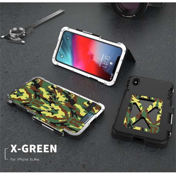 鋼鉄の王 iPhone XR iphoneXs Max iphone Xs ケース ARMOR KING 手帳型 横開き スタンド機能 史上最強ステンレス金属合金iphoneXカバーアルミバンパー|arunmui|21