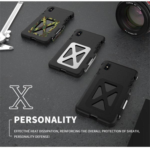 鋼鉄の王 iPhone XR iphoneXs Max iphone Xs ケース ARMOR KING 手帳型 横開き スタンド機能 史上最強ステンレス金属合金iphoneXカバーアルミバンパー|arunmui|10
