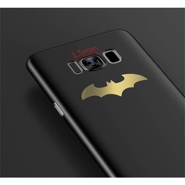 全5色 新作バットマン Galaxy S8 Galaxy S8+ ケース 薄型 マット つや消し 高品質galaxyS8/S8plus カバー おしゃれ ギャラクシーS8 かっこいいケース arunmui 03