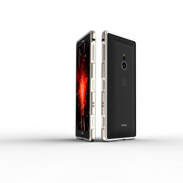 NEW色 極光 SONY Xperia XZ3 XZ2 Premium SO-04K ケース XZ2 SO-03K SOV37 XZ2Compact SO-05K アルミバンパー 鏡面仕上げ ストラップホール付き メタルフレーム|arunmui|14