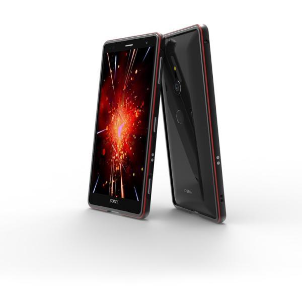 NEW色 極光 SONY Xperia XZ3 XZ2 Premium SO-04K ケース XZ2 SO-03K SOV37 XZ2Compact SO-05K アルミバンパー 鏡面仕上げ ストラップホール付き メタルフレーム|arunmui|03