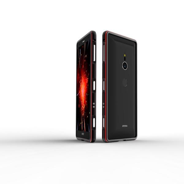 NEW色 極光 SONY Xperia XZ3 XZ2 Premium SO-04K ケース XZ2 SO-03K SOV37 XZ2Compact SO-05K アルミバンパー 鏡面仕上げ ストラップホール付き メタルフレーム|arunmui|09