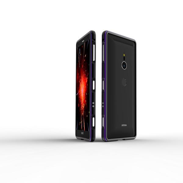 NEW色 極光 SONY Xperia XZ3 XZ2 Premium SO-04K ケース XZ2 SO-03K SOV37 XZ2Compact SO-05K アルミバンパー 鏡面仕上げ ストラップホール付き メタルフレーム|arunmui|10