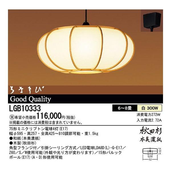 パナソニック LGB10333