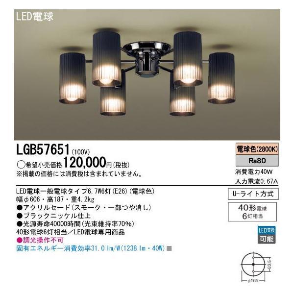 パナソニック LGB57651