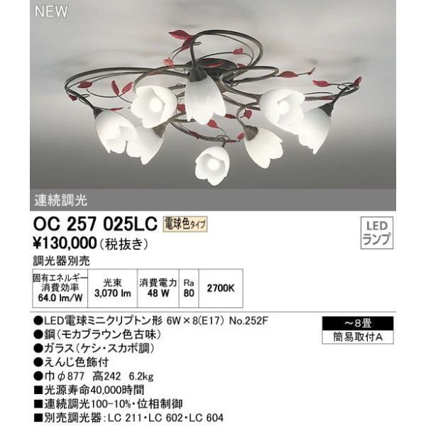 オーデリック OC257025LC|arupark