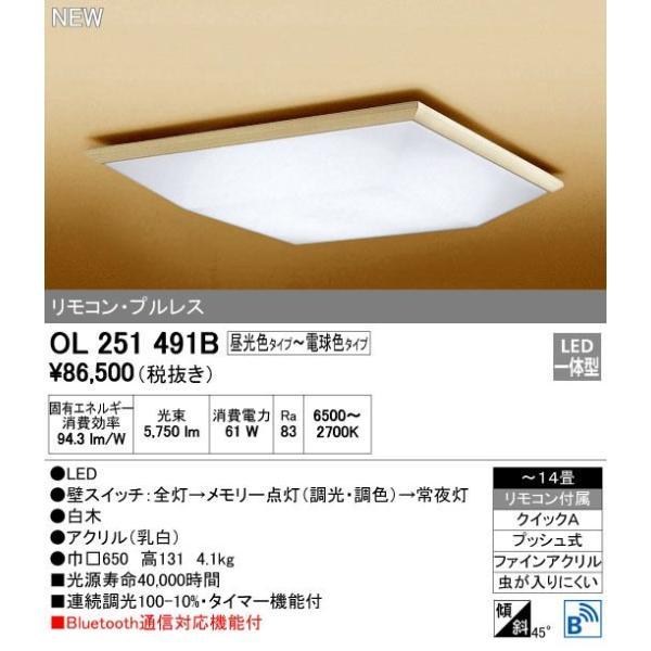 オーデリック OL251491B