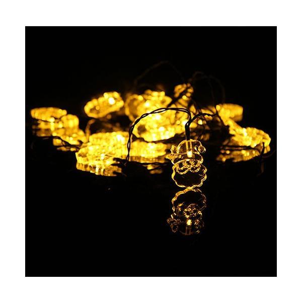 イルミネーション LED 屋外 ソーラー クリスマス ハロウィン LEDライト|arvasshop|02