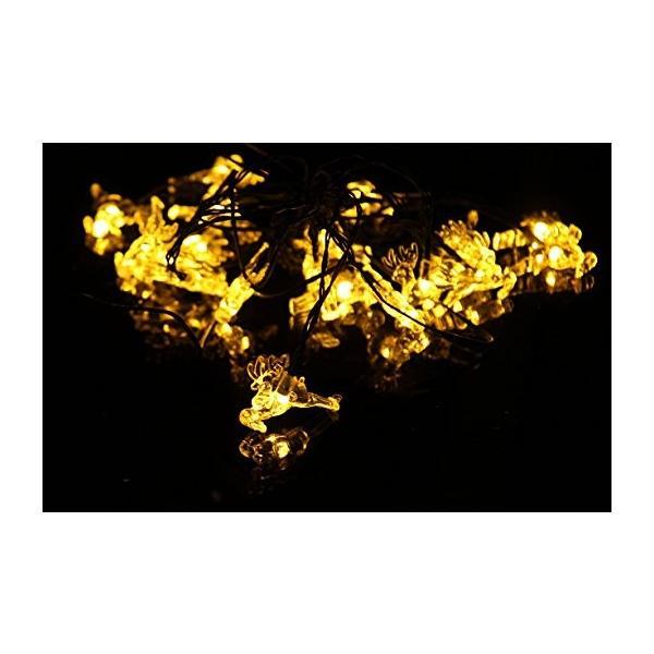 イルミネーション LED 屋外 ソーラー クリスマス ハロウィン LEDライト|arvasshop|06