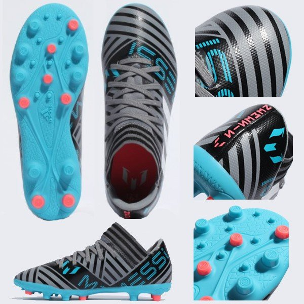 SALE adidas(アディダス) CQ1907 サッカー ジュニア スパイク ネメシス メッシ 17.3-ジャパン HG J 18Q1 as-y 02