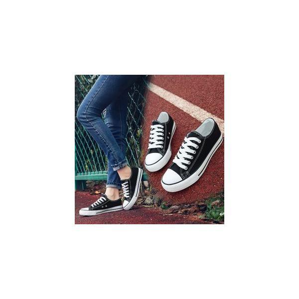 キャンバスシューズスニーカーレディースメンズ男女兼用ユニセックス厚底スニーカーローカット定番スクール風学生カジュアルシンプル